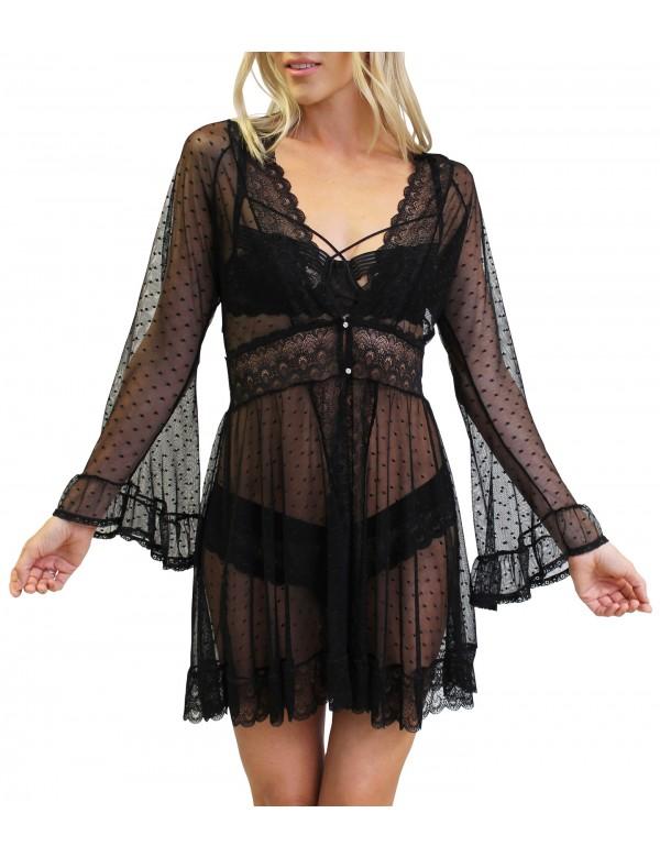 BF Tessa Lace Robe