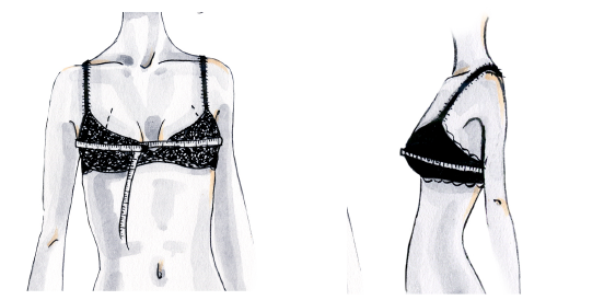 luxury lingerie Fitting Guide
